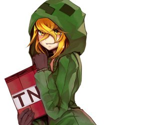 Creeper girl by karutaroromiyaneko on whi - Creeper anime girl ...