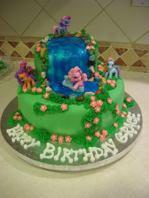 My Little Pony Birthday Cake by JWSA1 on Cake Central on we heart it ...