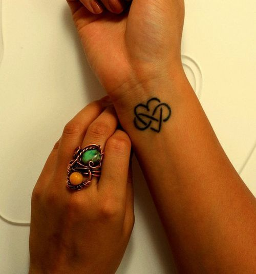 Infinity Tattoo On Wrist
