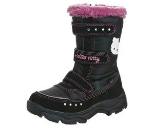black hello kitty shoes