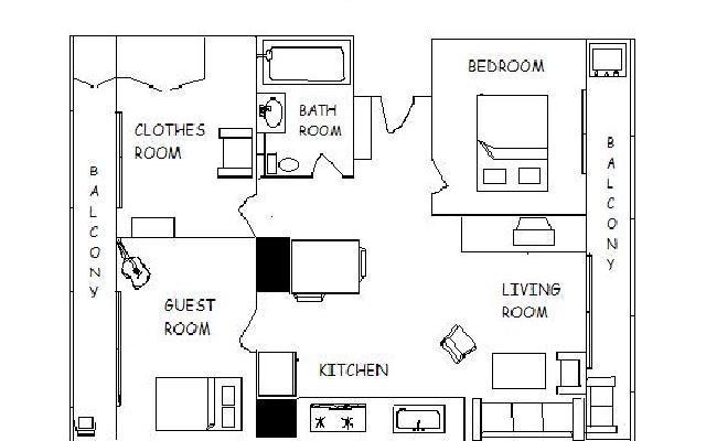 floorplan from a picture with draw floor plans online with some