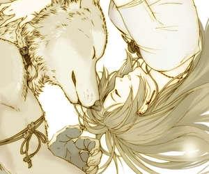 wolf girl love
