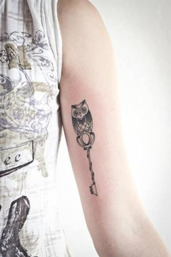 Tatoo,key,owl,tattoo-9851c33df07add1d04d2e13b99d89748_h_large