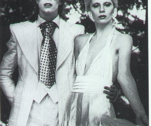 daviid and angela bowie