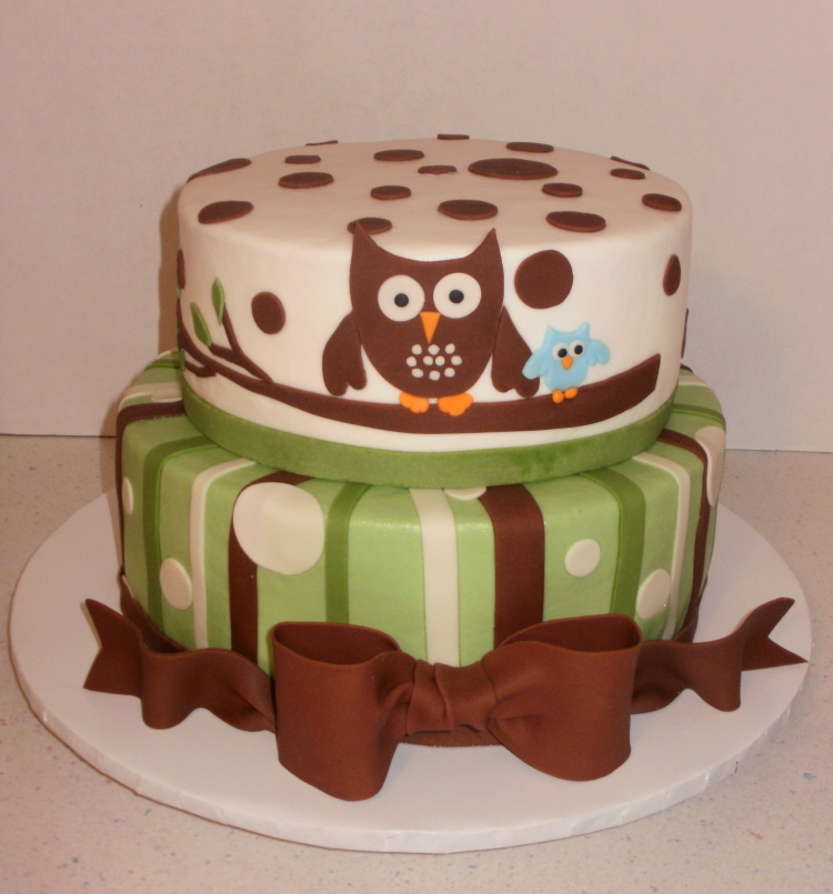 Baby Shower Ideas Owl ~ Another owl baby shower by sueb on cake central we heart it