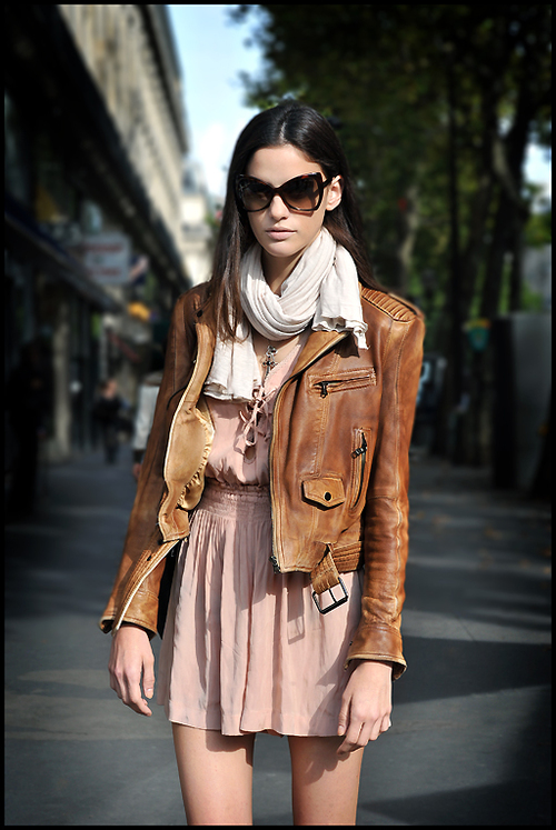 Brown Leather Jacket With Black Shoes Reddit