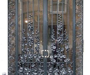 hollyhock door