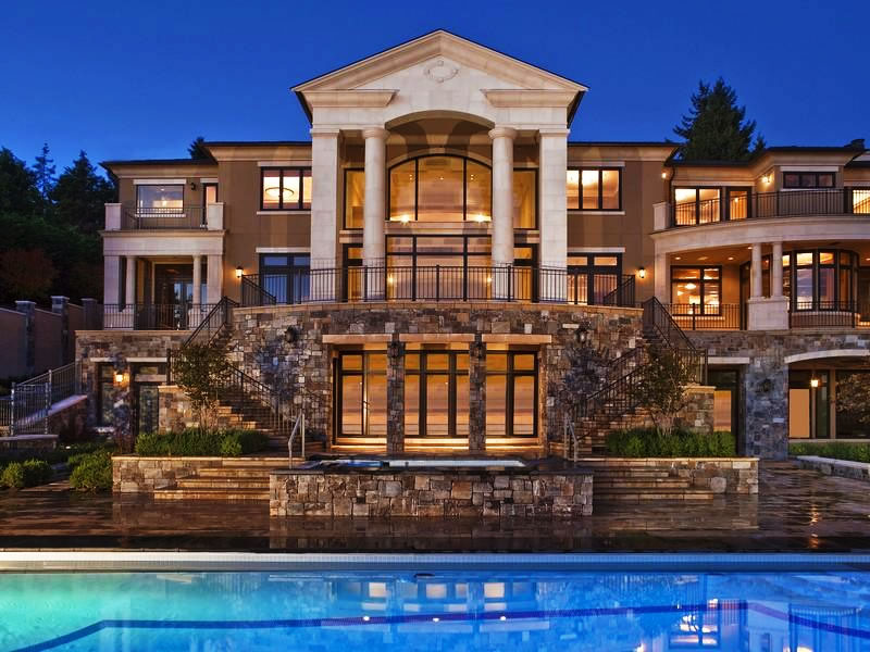 Luxury Mansions: Showcasing Luxury Houses By
