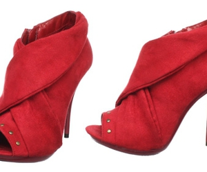 red rojo shoes tacones