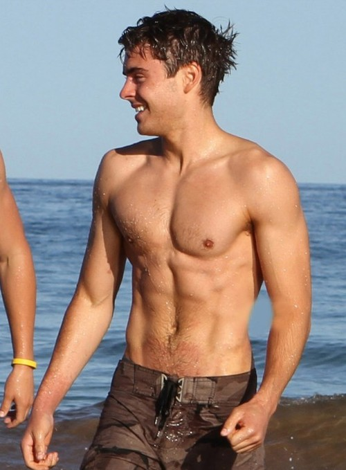 zac efron abs