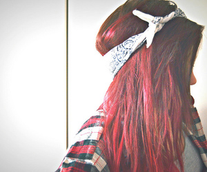 red hair