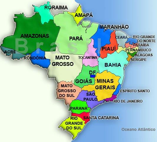 Viagens Lacoste: Mapa do Brasil (Brazil Map) - Outros Mapas | We ... MAPA DE BRASIL