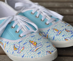 Lilly Pulitzer - Lilly Pulitzer style Hand Painted Tennis