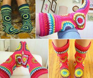 diy hexagon slippers