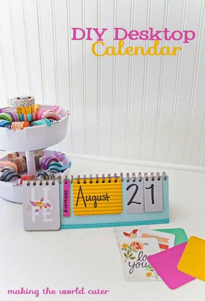 Diy Calendar App : Diy calendar we heart it and