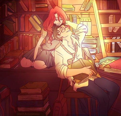 james_and_lily_are_studying__by_viria13-d3efsrl_large