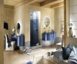 the bathroom furniture