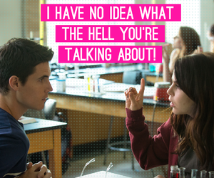 "It's hard to understand ""jock speak."" The DUFF - in theaters now: http://bit.ly/DUFFTix"