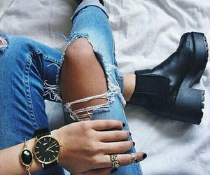 61 images about I'm A Ripped Jeans, White Tee Kind Of Girl on We ...