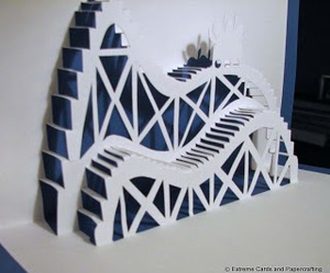 origami kirigami by shira12310 on we heart it. Black Bedroom Furniture Sets. Home Design Ideas