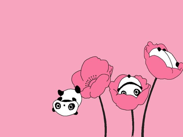 Cute Panda Wallpaper