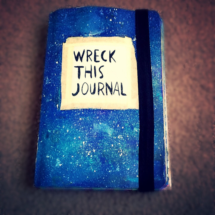 Wreck This Journal Cover my wreck this journal ...