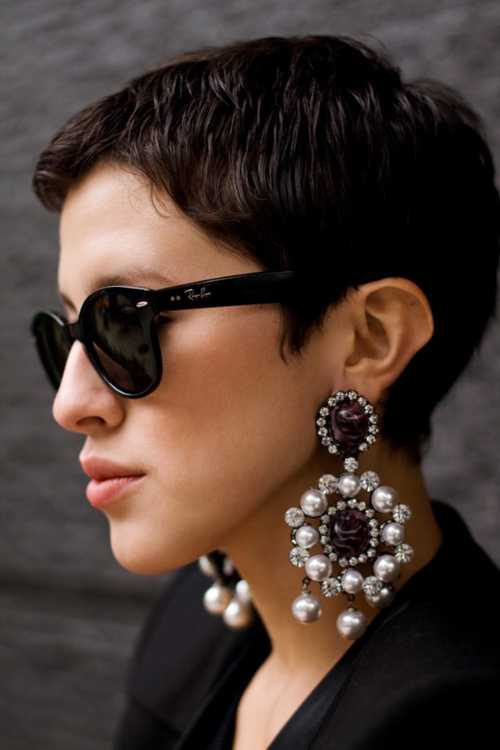 Large Statement Earrings TopEarrings – Oversized Chandelier Earrings