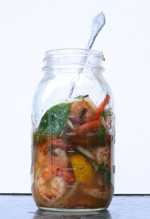 The Bitten Word: Pickled Shrimp