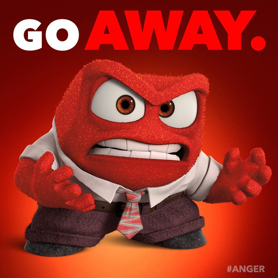 Quotes About Anger And Rage: Via Facebook By Pixar Inside Out