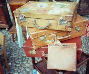 vintage suitcase lomo