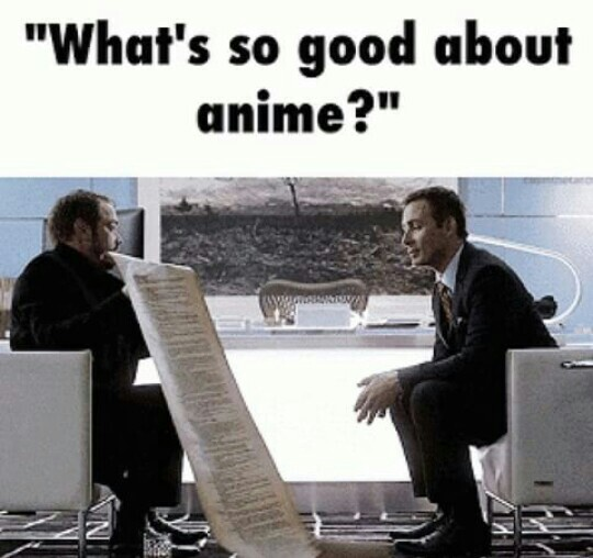 """Intellectual Property Meme: Funny Anime Memes 😂💁 """"whats So Great About Anime ?"""""""