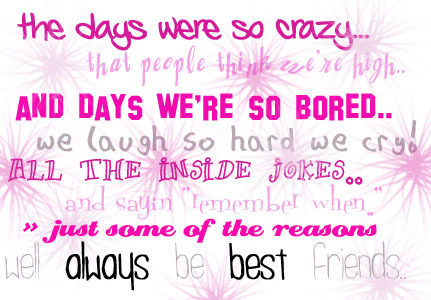 friends quotes with pictures. Best Friends Myspace Quote Graphics - Myspace Quotes