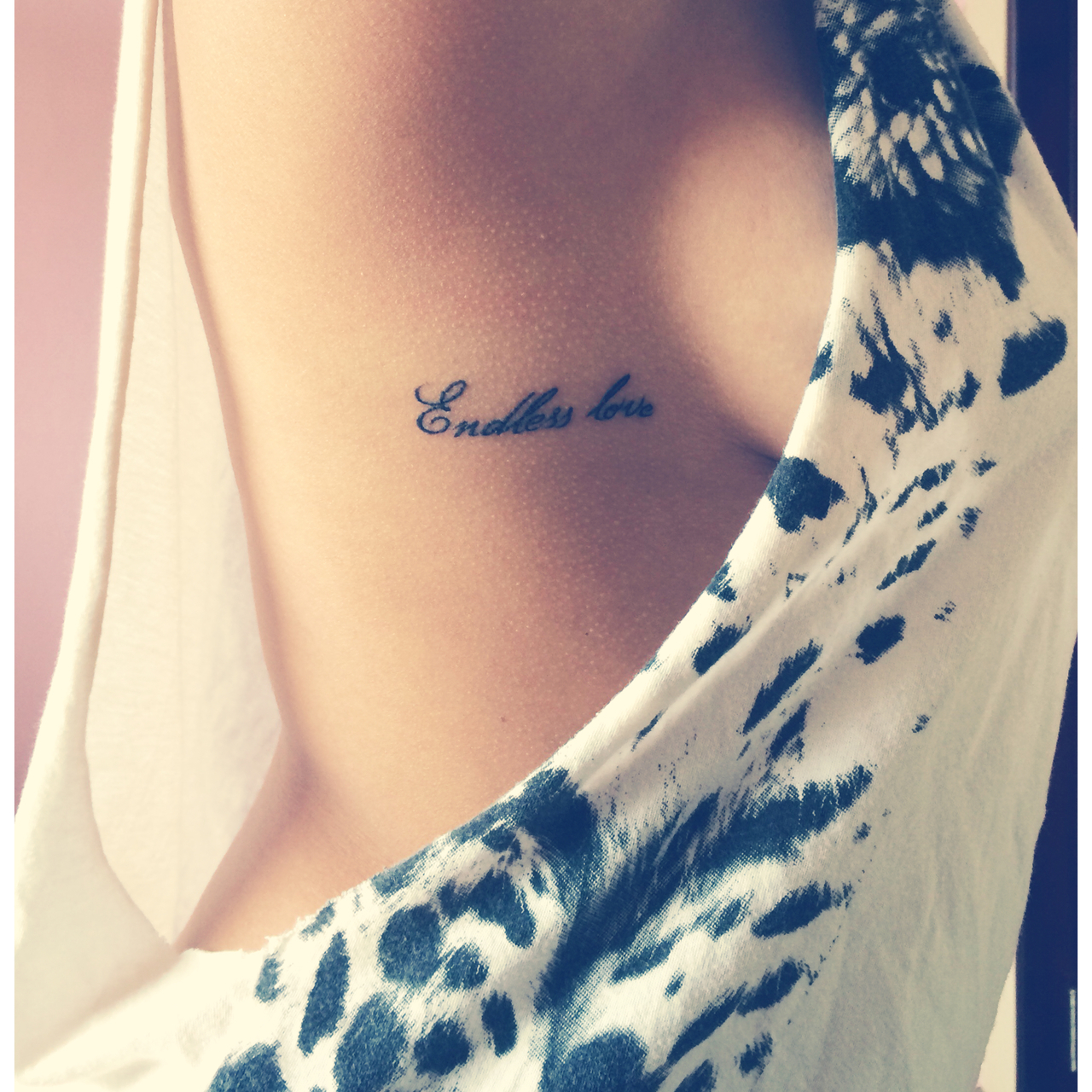 Endless Love Mini Tattoo We Heart It Black Girl And Mini Tattoo