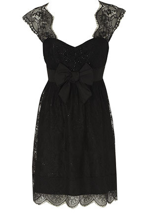 Black Dress on Simple Black Dress   Lbd     The Elegant Classic For Any Party   2011
