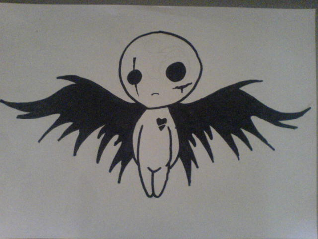 Angel Drawing Tumblr Fallen Angel Drawing Tumblr