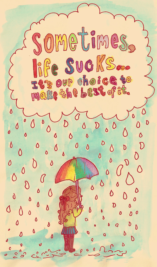 Sometimes Life Sucks by ~GabiiRain on deviantART