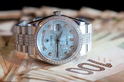 beautiful, diamonds, fashion, luxury, rolex - inspiring picture on Favim.com