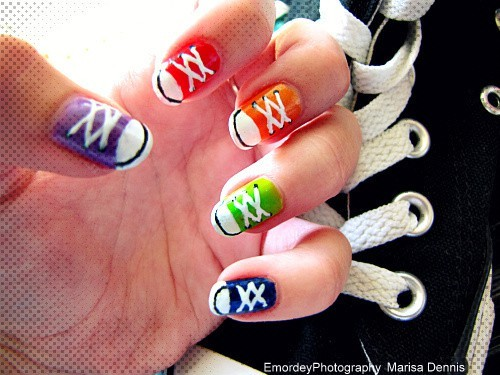Just for Kids! / Sneaker nails