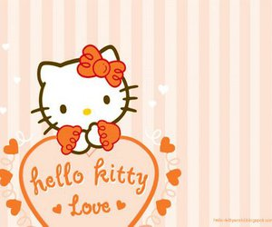 orange hello kitty