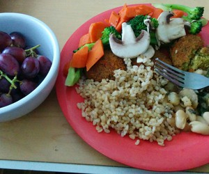 healthy lunch college