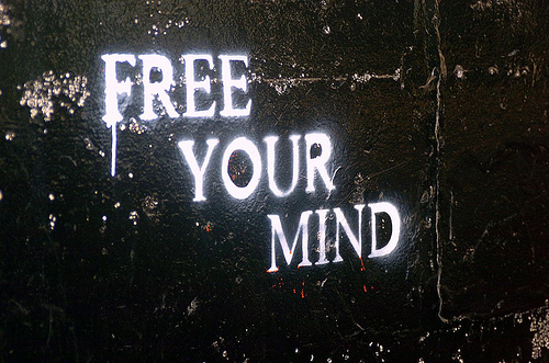 cool, free, free your mind, graffiti, mind - inspiring picture on Favim.com