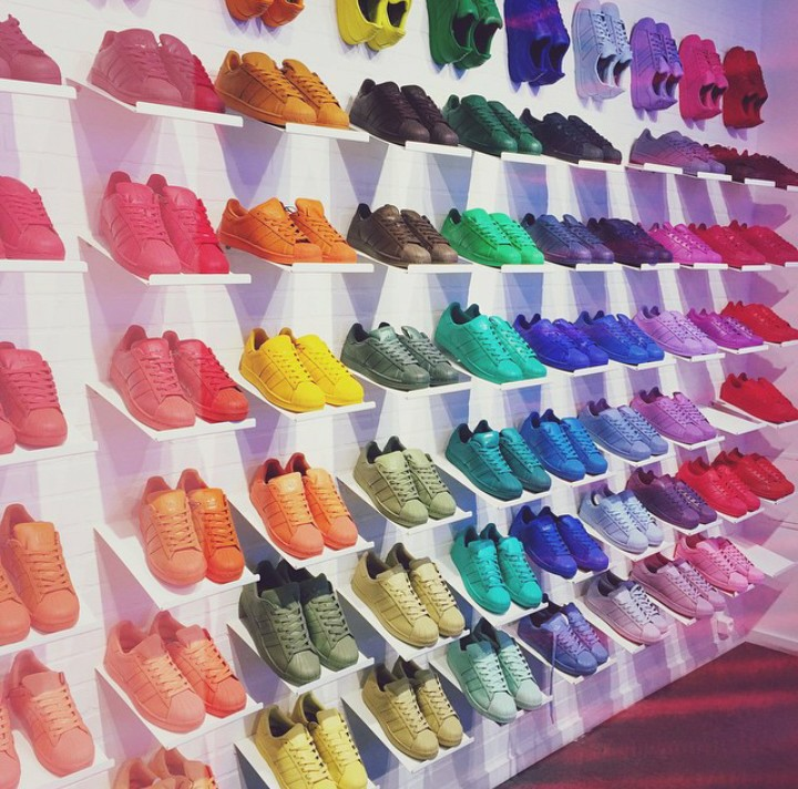 Adidas Superstar Shoes Colorful