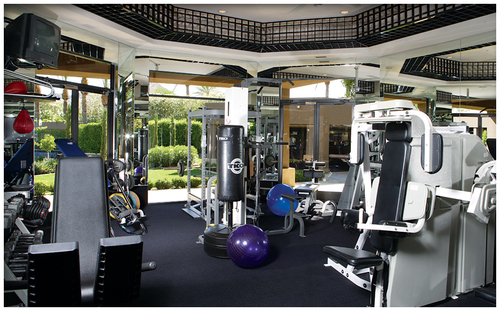 Exercise fitness best home gym