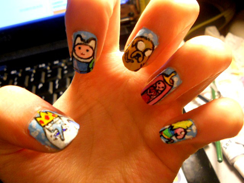Adventure_time_nails__by_marissa287-d46coia_large
