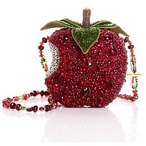 Mary Frances First Bite Beaded Apple Bag at HSN.com - Polyvore