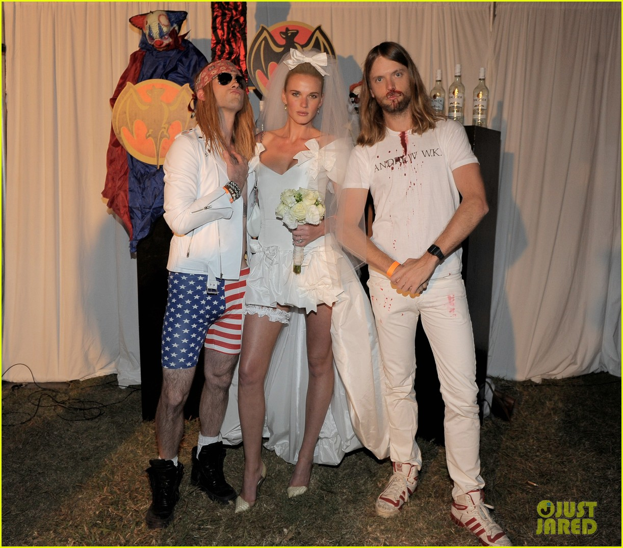 Full Sized Photo of adam levine maroon 5 halloween party 05 | Adam ...