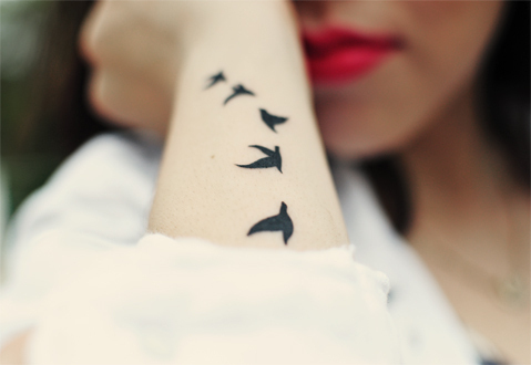 Tattoos Tumblr on Oh Yeah Bird Tattoos  On We Heart It   Visual Bookmark  17488596