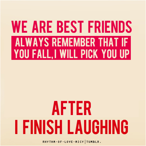 best friends, friends, funny, laught, laughter - inspiring picture on ...