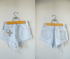 high wasted cross shorts