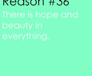 hope beauty everything